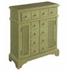 Gail's Accents Cottage Pistachio Shutter Console Table