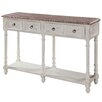 <strong>Gail's Accents</strong> Cottage Open Console Table