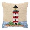 Peking Handicraft INC. Beach Light Tower Hook Pillow
