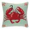 Peking Handicraft INC. Crab with Monocle Hook Pillow
