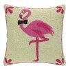 Peking Handicraft INC. Bowtie Flamingo Hook Pillow