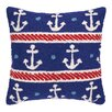 Peking Handicraft INC. Anchors Hook Pillow