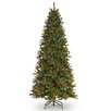 National Tree Co. 9' Green Fir Artificial Christmas Tree with 600 LED Multi Lights and Stand