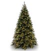 National Tree Co. Tiffany Fir 9' Green Artificial Christmas Tree with 850 Clear Lights and Stand