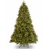 National Tree Co. Bayberry Spruce 7' Green Artificial Christmas Tree with 700 Clear Lights and Stand