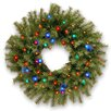 "National Tree Co. Norwood Fir 24"" Pre-Lit Wreath"