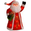 National Tree Co. Pre-Lit Standing Santa Christmas Decoration
