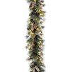 "National Tree Co. Pre-Lit 9' x 10"" Glitter Pine Garland"