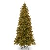 National Tree Co. Douglas 9' Green Fir Artificial Christmas Tree with 800 Clear Lights and Stand