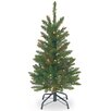 National Tree Co. 3' Green Kingswood Fir Artificial Christmas Tree
