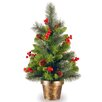 National Tree Co. Crestwood Spruce 2' Green Small Artificial Christmas Tree