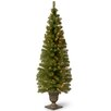 National Tree Co. Montclair Spruce 6' Green Artificial Christmas Tree with 150 Colored & Clear Lights