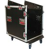 <strong>12U Top, 12U Side Audio Road Console Rack</strong> by Gator Cases