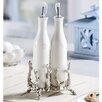 SPI Home Coral Coll Oil and Vinegar Bottle Set