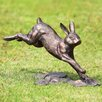 SPI Home Running Rabbit Garden Statue