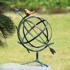 <strong>SPI Home</strong> Decorative Desktop Armillary with Bird