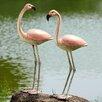 SPI Home Flamboyant Flamingos Garden Pair