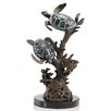 SPI Home Turtle Duet with Sealife Figurine