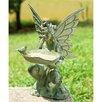 SPI Home Fairy Decorative Bird Feeder