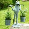 <strong>Farmer Frog Planter Holder</strong> by SPI Home