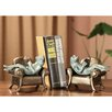 SPI Home Frogs Reading on Sofa Book Ends (Set of 2)