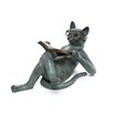 <strong>SPI Home</strong> Literary Cat Garden Statue