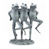 <strong>SPI Home</strong> Dancing Frog Trio Statue
