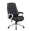 Boss Office Products High-Back Executive Office Chair with Mesh Inserts