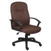 Boss Office Products Mid-Back Managerial Chair with Arms