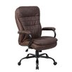 <strong>Boss Office Products</strong> High-Back Executive Office Chair with Lumbar Support