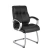 Boss Office Products Mesh Executive Guest Chair with Arms