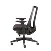 Boss Office Products Contemporary Mid-Back Mesh Executive Chair with Arms