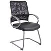 Boss Office Products Mesh Guest Chair with Loop Arms