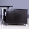 Boss Office Products Veneer Series 2-Drawer Fixed Cabinet