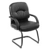 <strong>Caressoft Guest Chair with Mid-Back</strong> by Boss Office Products