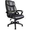 <strong>Boss Office Products</strong> High-Back Leather Executive Chair with Arms