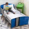 P'kolino Classically Cool Racing Stripes Toddler Panel Bed