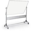 <strong>Platinum Reversible 4' H x 6' L Whiteboard and Bulletin Board</strong> by Best-Rite®