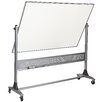 <strong>Platinum Reversible Dura-Rite 4' H x 6' L Whiteboard</strong> by Best-Rite®