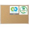 Best-Rite® VT Logic Cork Board with Aluminum Trim