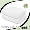 <strong>BioPEDIC</strong> Memory Foam Comfort Pillow (Set of 2)