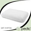 BioPEDIC Gel Overlay Comfort Bed Pillow