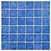 """EliteTile Pool 2"""" x 2"""" Porcelain Glazed Mosaic in Catalan"""