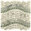 "<strong>Sierra 5/8"" x 5/8"" Polished Glass, Stone and Metal Mosaic in Wave M...</strong> by EliteTile"