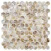 <strong>Shore Natural Shell Mosaic Tile in Natural</strong> by EliteTile
