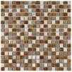"Isle 11-3/4"" x 11-3/4"" Porcelain Mosaic Wall Tile in Avalonia"