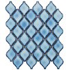 """<strong>Arabesque 2-3/4"""" x 1-7/8"""" Porcelain Mosaic Tile in Aella</strong> by EliteTile"""