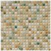 """EliteTile Arcadia 9/16"""" x 9/16"""" Glazed Porcelain Mosaic in Springfield"""