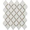 """<strong>Arabesque 2-3/4"""" x 1-7/8"""" Porcelain Mosaic Tile in Selene</strong> by EliteTile"""