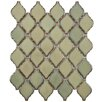"""<strong>Arabesque 2-3/4"""" x 1-7/8"""" Porcelain Mosaic Tile in Thalia</strong> by EliteTile"""